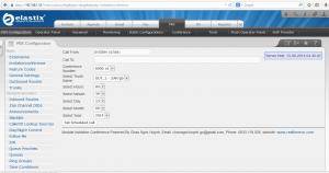 Modun mời hợp qua web Asterisk 2